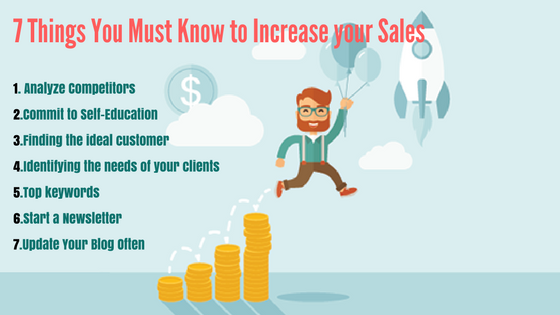 7 Things You Must Know to Increase your Sales
