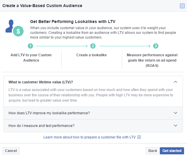 12 how to create value based custom audience in Facebook business manager