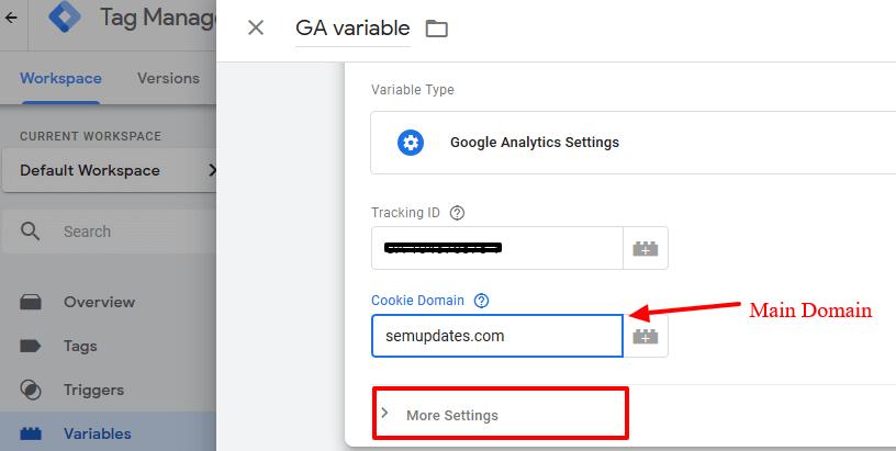 Google Tag Manager 0 Variables - 3