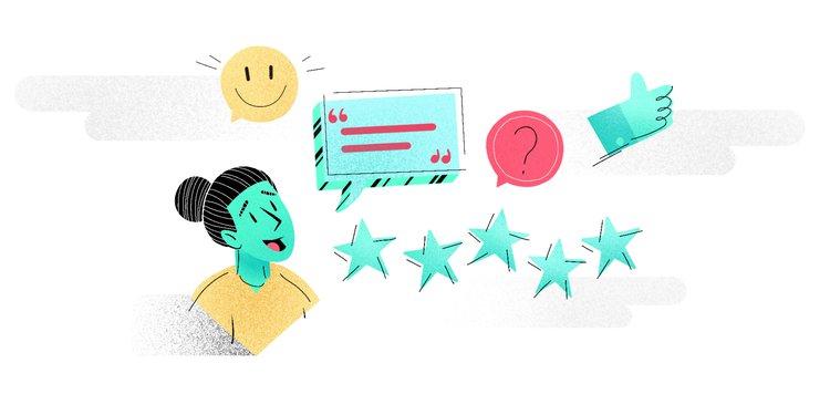 Marketing - customer satisfaction, rating