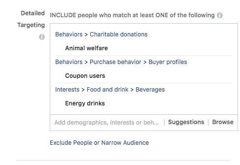 5 - Instagram targeting audience
