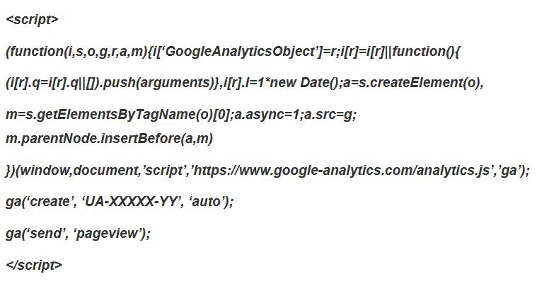 Google Analytics Cross Domain Tracking analytics.js