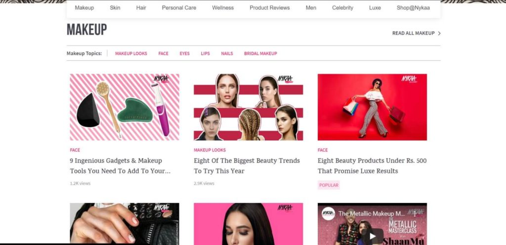 5-Nykaa content marketing campaign