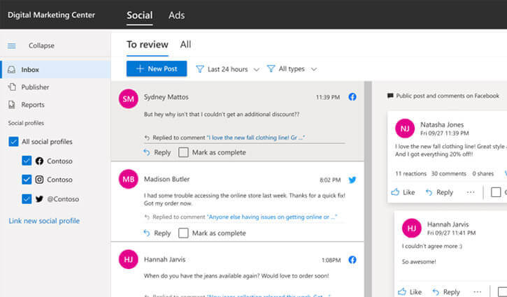 Microsoft-Digital-Marketing-Center-ads-social
