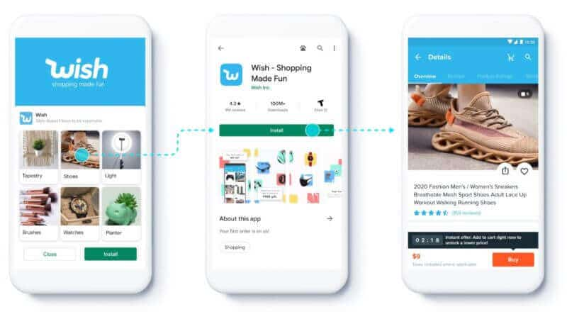 Google tests feeds for App install campaigns